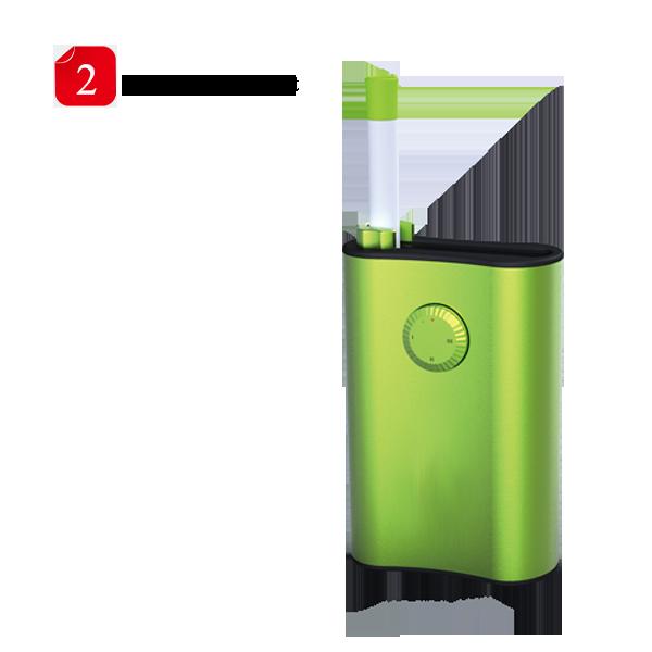WEECKE Tobacco VaporizerⅡ patent