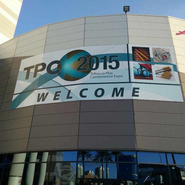 TPC 2015 tobacco vaporizer